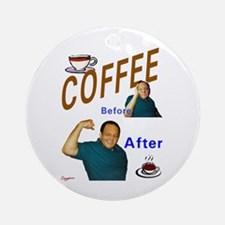 Coffee! Ornament (Round)