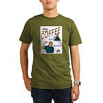 Coffee! Organic Men's T-Shirt (dark)