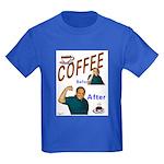 Coffee! Kids Dark T-Shirt