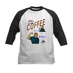 Coffee! Kids Baseball Jersey