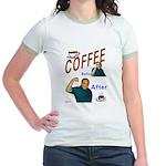 Coffee! Jr. Ringer T-Shirt