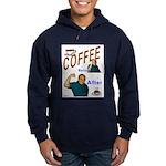 Coffee! Hoodie (dark)