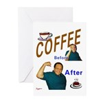 Coffee! Greeting Cards (Pk of 10)