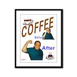 Coffee! Framed Panel Print