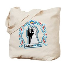 Art Deco Wedding Icon Tote Bag