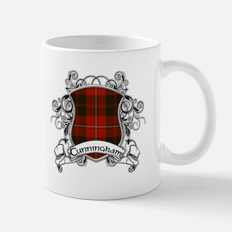 Cunningham Tartan Shield Mug