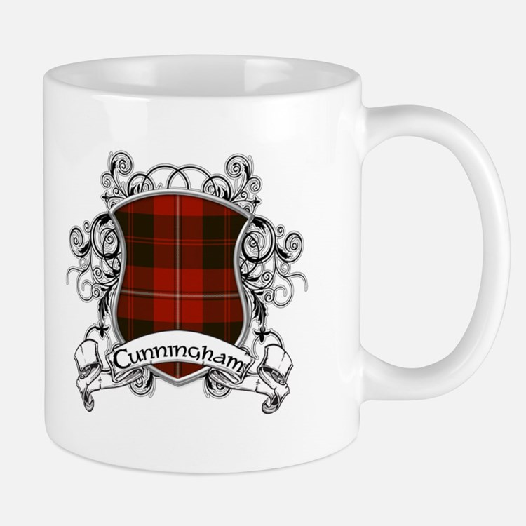 Cunningham Tartan Shield Small Small Mug