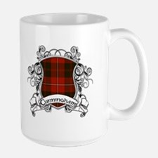 Cunningham Tartan Shield Ceramic Mugs