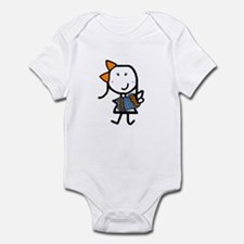 Girl & Accordion Infant Bodysuit