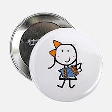 "Girl & Accordion 2.25"" Button"