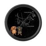 Canis Major Large Wall Clock