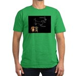 Canis Major Men's Fitted T-Shirt (dark)