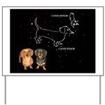 Canis Major Yard Sign