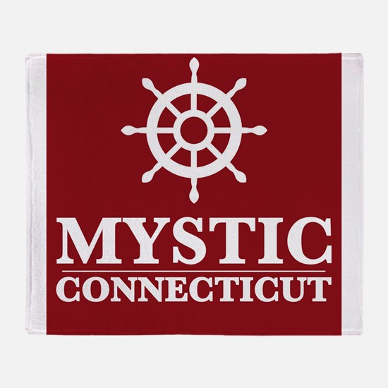 Mystic Connecticut Throw Blanket