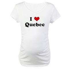I Love Quebec Shirt