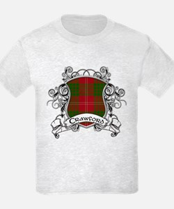 Crawford Tartan Shield T-Shirt