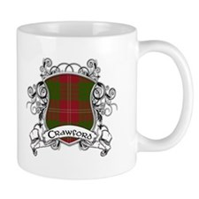 Crawford Tartan Shield Mug
