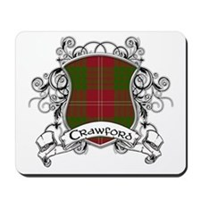 Crawford Tartan Shield Mousepad