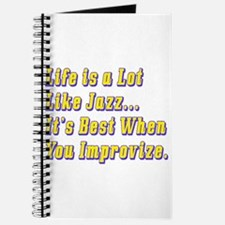 Life is Like Jazz Journal