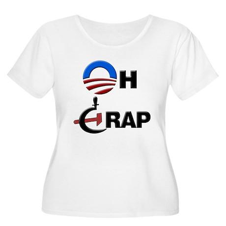 Oh Crap Women's Plus Size Scoop Neck T-Shirt