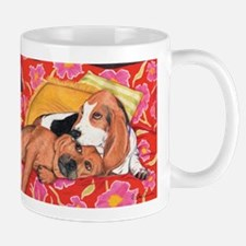 Unique Basset hound mix Mug