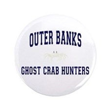 """Ghost Crab Hunters 3.5"""" Button"""