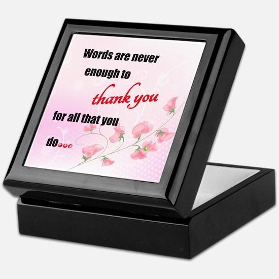 Sakura Blessings Keepsake Box