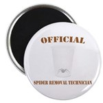 Official Spider Removal Technician Magnet