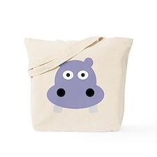 hippo head Tote Bag