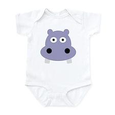 hippo head Infant Bodysuit