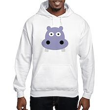 hippo head Hoodie