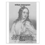 William Shakespeare: Compare Thee to a Summers Day