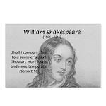 Shakespeare: Beauty of Juliet Postcards (Package o