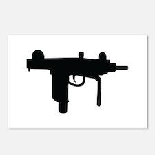 uzi machine gun Postcards (Package of 8)