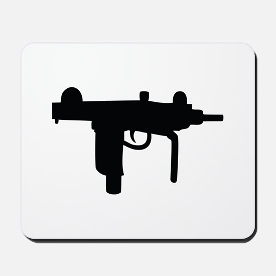 uzi machine gun Mousepad