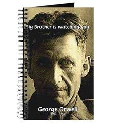 Orwell Big Brother 1984 Journal
