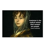 Sexuality Feminism Goya Postcards (Package of 8)