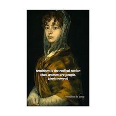 Francisco Goya: Painting of Woman Mini Art Print