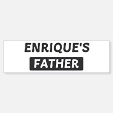 Enriques Father Bumper Bumper Stickers
