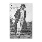 Musician Ludwig van Beethoven (Poster Mini)