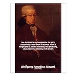 Wolfgang Amadeus Mozart: Unity of Composing Music