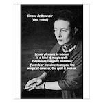 Female Philosopher Simone De Beauvoir: Sex Magic