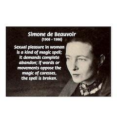 Simone De Beauvoir Postcards (Package of 8)