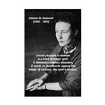 Simone De Beauvoir Sexuality Spell Prints