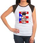 NEW!!! TAINO BABY BORICUA Women's Cap Sleeve T-Shi