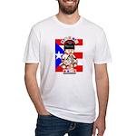 NEW!!! TAINO BABY BORICUA Fitted T-Shirt