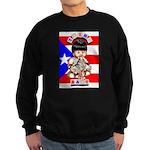 NEW!!! TAINO BABY BORICUA Sweatshirt (dark)