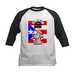 NEW!!! TAINO BABY BORICUA Kids Baseball Jersey
