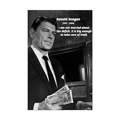 Political Satire Poster: Young Ronald Reagan
