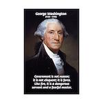 George Washington: First U.S. President Print